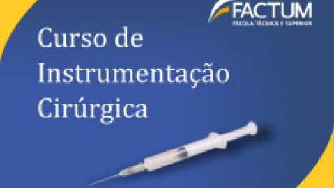 Mercado de trabalho para Instrumentador Cirúrgico esta em alta!