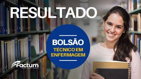RESULTADO BOLSÃO ENFERMAGEM 2020/1