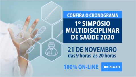 Cronograma Simpósio Multidisciplinar em Saúde