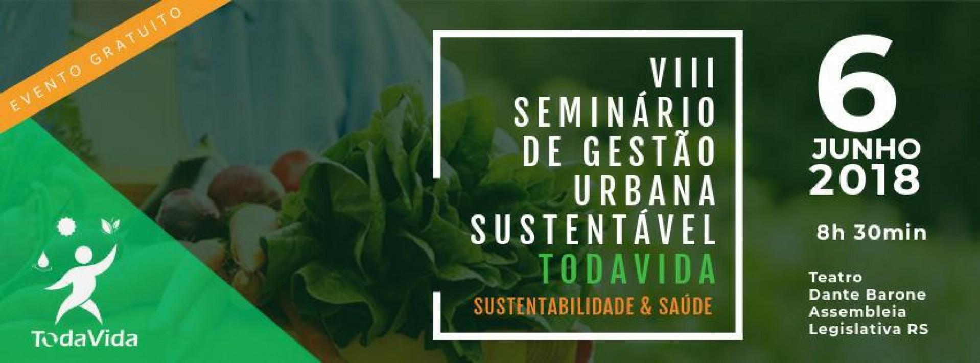 VIII Seminário de Gestão Urbana Sustentável