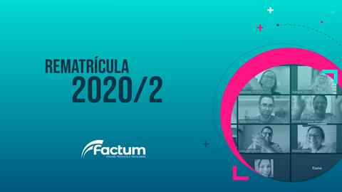 Rematrículas 2020/2